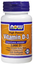 Now Foods- Vitamin D, 2000IU, 120 softgels