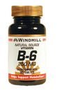 Vitamin B-6, 250mg, 60 Tablets