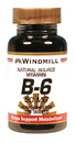 Vitamin B-6, 50mg, 100 Tablets