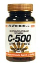 Vitamin C, 500mg with Rose Hips SR, 90 Tablets