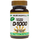 Vitamin D-1000IU, 100 Tablets