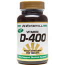Vitamin D-400IU, 250 Tablets