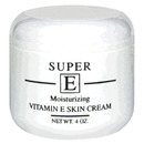 Vitamin E Cream Jar, 4oz Cream