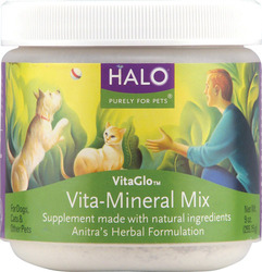 Halo- Vita Glo, Mineral Mix, 9oz