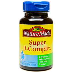 Nature Made- Vitamin B Super Complex, 60 Softgels
