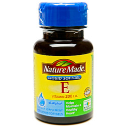 Nature Made- Vitamin E-200IU Dl-Alpha, 100 Softgels