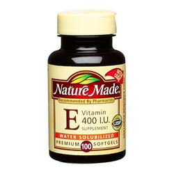 Nature Made- Vitamin E-400IU Water-Soluable, 100 Softgels