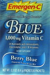 Emergen-C- Vitamin C, Berry Blue (30 pack)