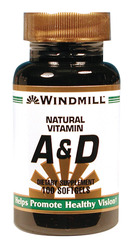 Windmill- Vitamin A&D, 100 Softgels