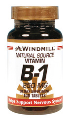 Windmill- Vitamin B-1, 250mg, 100 Tablets