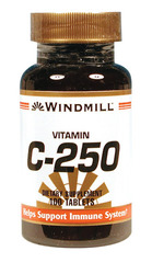 Windmill- Vitamin C, 250mg, 100 Tablets