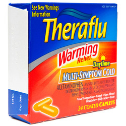 Theraflu- Warming Relief Daytime, Multi-Symptom, Cold, 24 Caplets