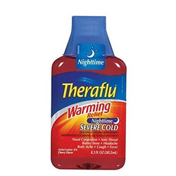 Theraflu- Warming Relief Daytime, Severe Cold & Cough, 8oz