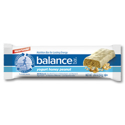 Balance Bar Original- Yogurt Honey Peanut bars (15 pack)