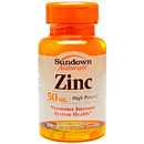 Zinc Gluconate 50mg, 100 caplets