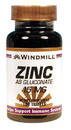 Zinc as Gluconate, 15mg, 100 Tablets