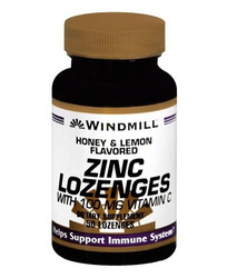 Windmill- Zinc Lozenges with Vitamin C, 100mg, 50 Lozenges