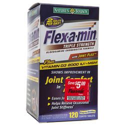 Flex-a-min- with Hyaluronic Acid, 120 tablets