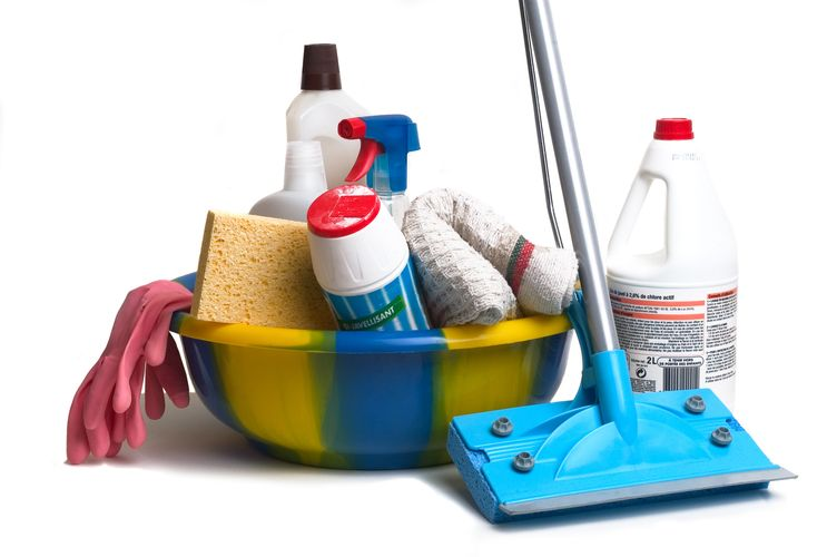 healthy lifestyle- spring cleaning