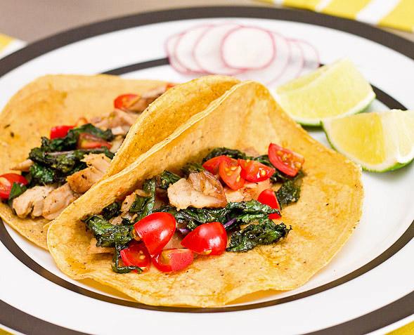 leftover tacos